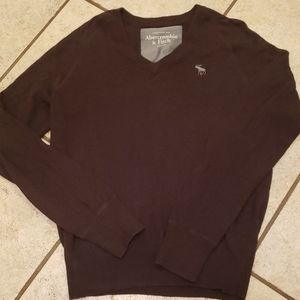 Gorgeous brown Abercrombie & Fitch men's sweater